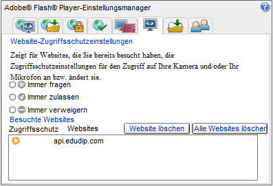 Flash Player Einstellungen Tutorial