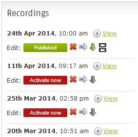 Create a recording