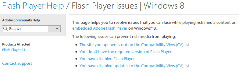 Flash Player settings tutorial