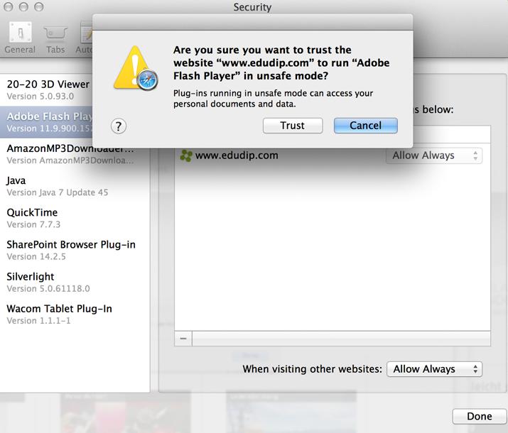 Safari settings tutorial